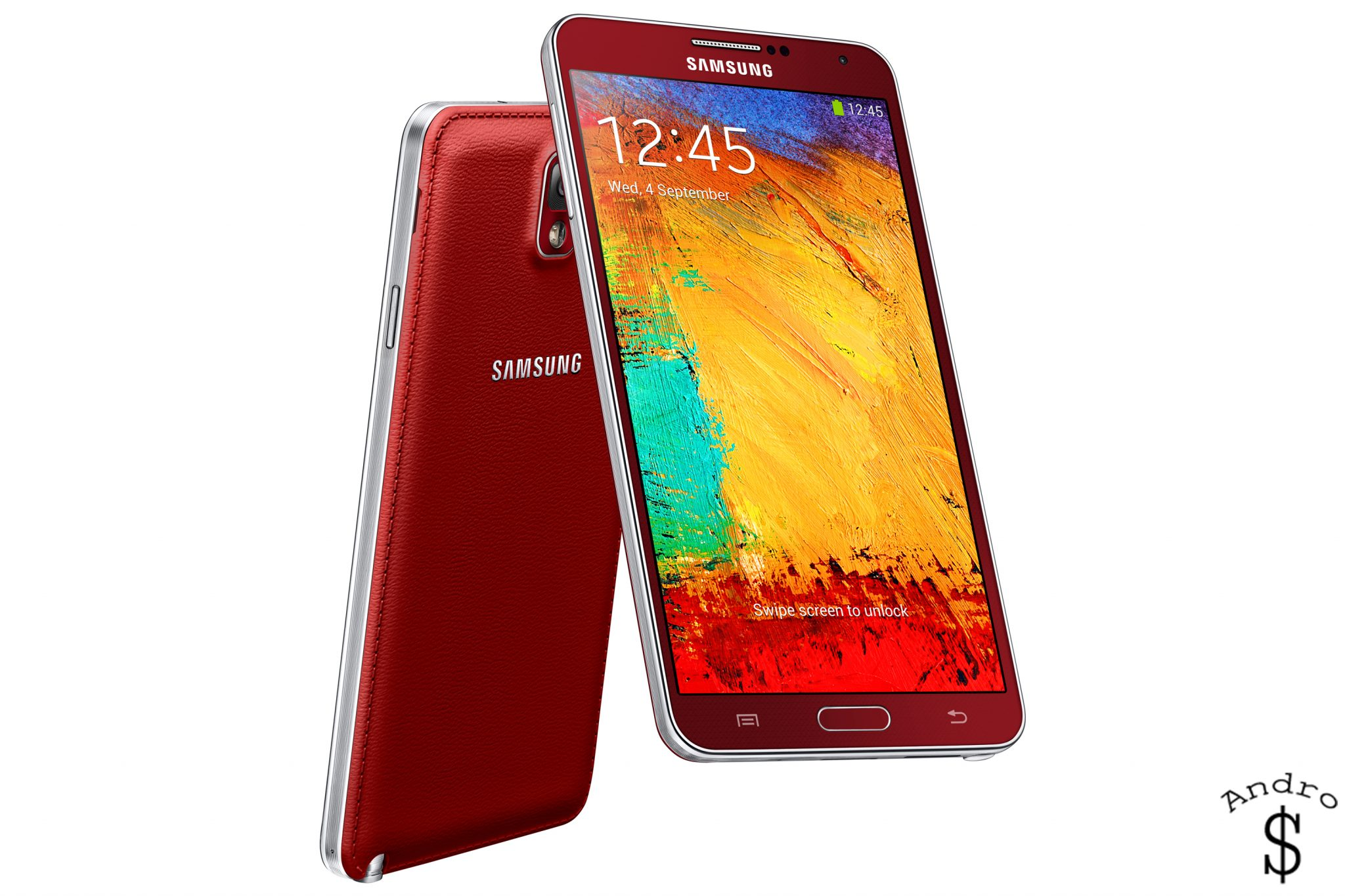The Red Variant of the Galaxy Note 3