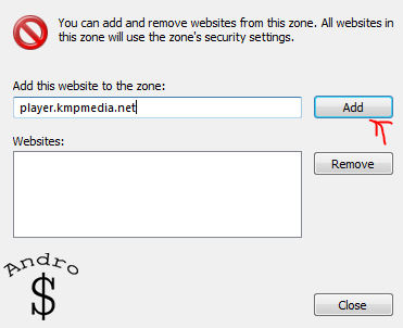 4 - HOW TO : Block KMP From accessing the internet