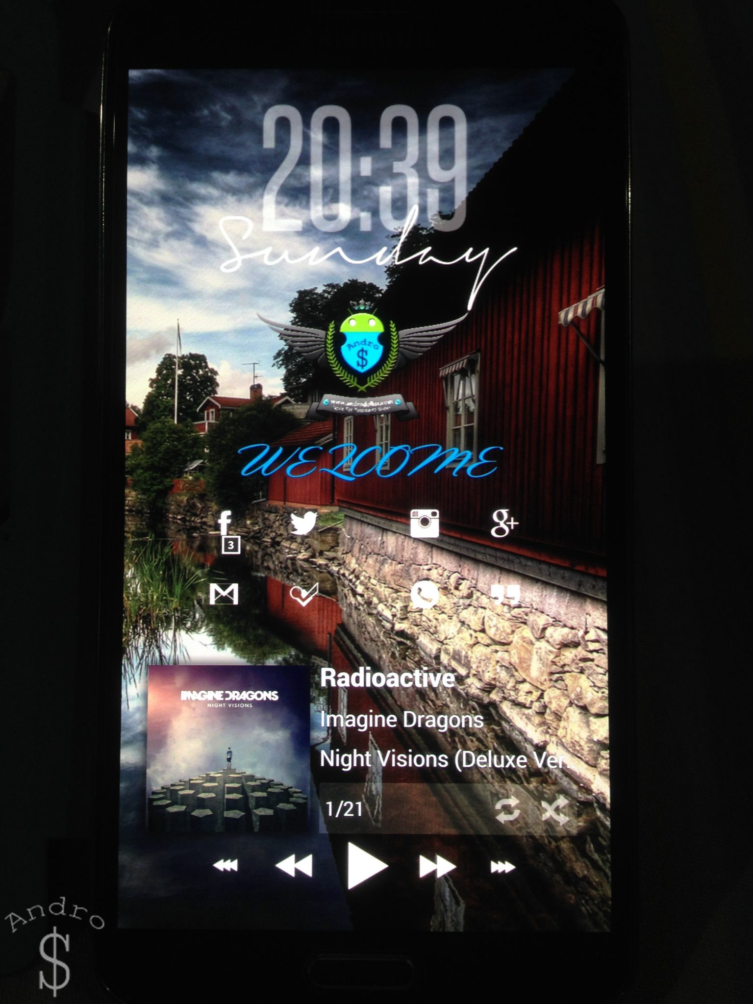 Andro Remixed 2 - HOW TO : Theme your Phone with the Andro$ Remixed Theme