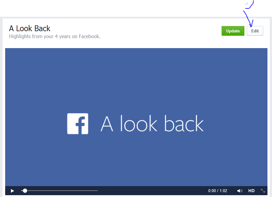 Capture1 - HOW TO : Edit the Facebook Look Back Video