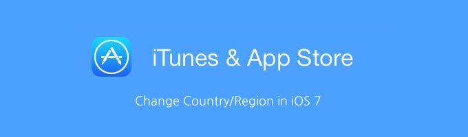 How to Change App Store Country or Region in iOS 7 - HOW TO : Change the App Store Region in your iDevice