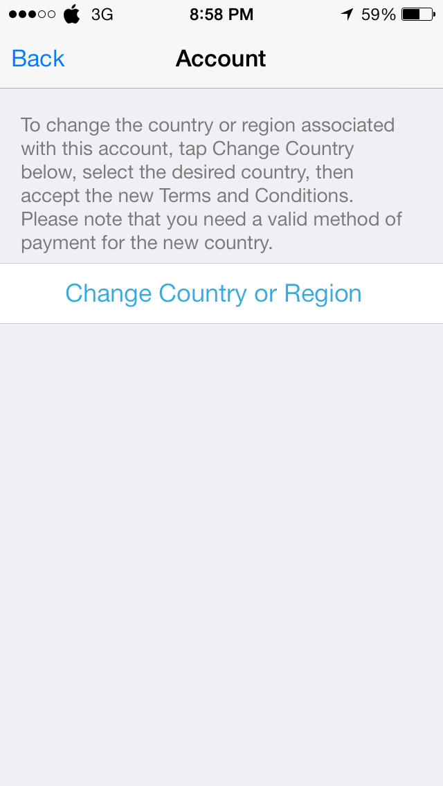 Photo Feb 04 8 58 48 PM - HOW TO : Change the App Store Region in your iDevice