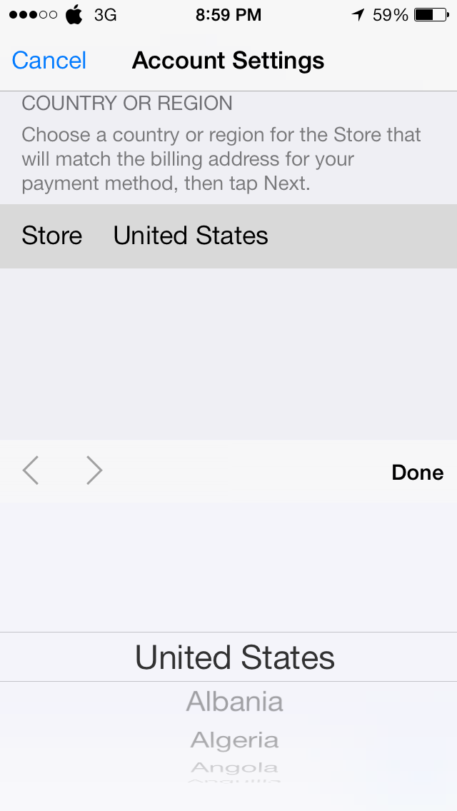 Photo Feb 04 8 59 01 PM - HOW TO : Change the App Store Region in your iDevice