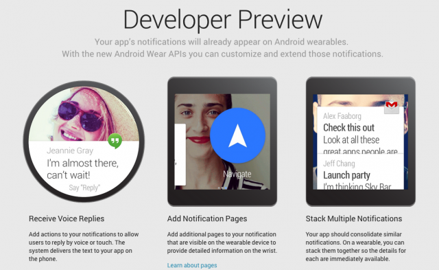 Android Wear Developer Preview 640x393 - Google releases Android Wear Developer Preview