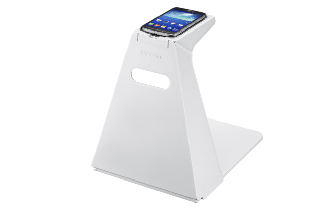 optical scan stand - Samsung's 'Specialized' ultrasonic case for Galaxy Core Advance