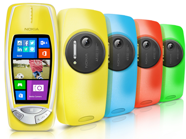 3310 pureview in line1 - Round-up of April Fool's day pranks by Tech Giants (2014)