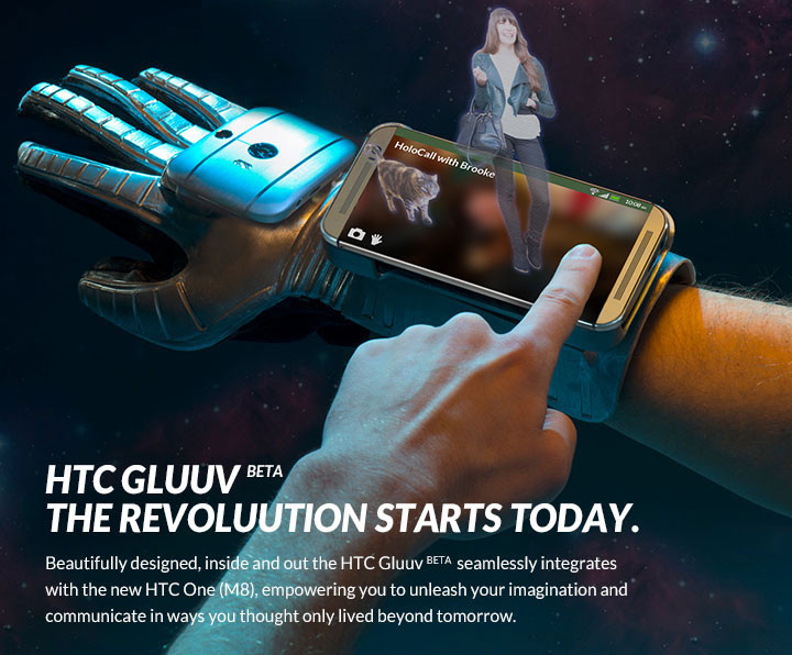 HTC GLUUV - Round-up of April Fool's day pranks by Tech Giants (2014)
