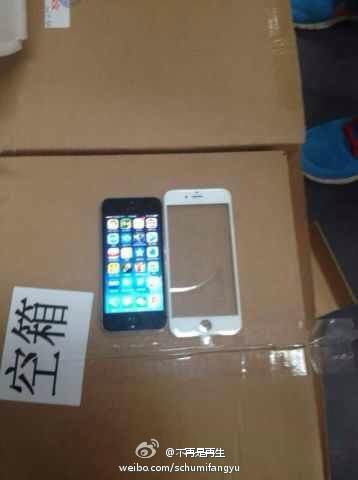 iphone 6 front panel - LEAKED : Apple iPhone 6 Front Panel, Batteries and a Mock-up Video