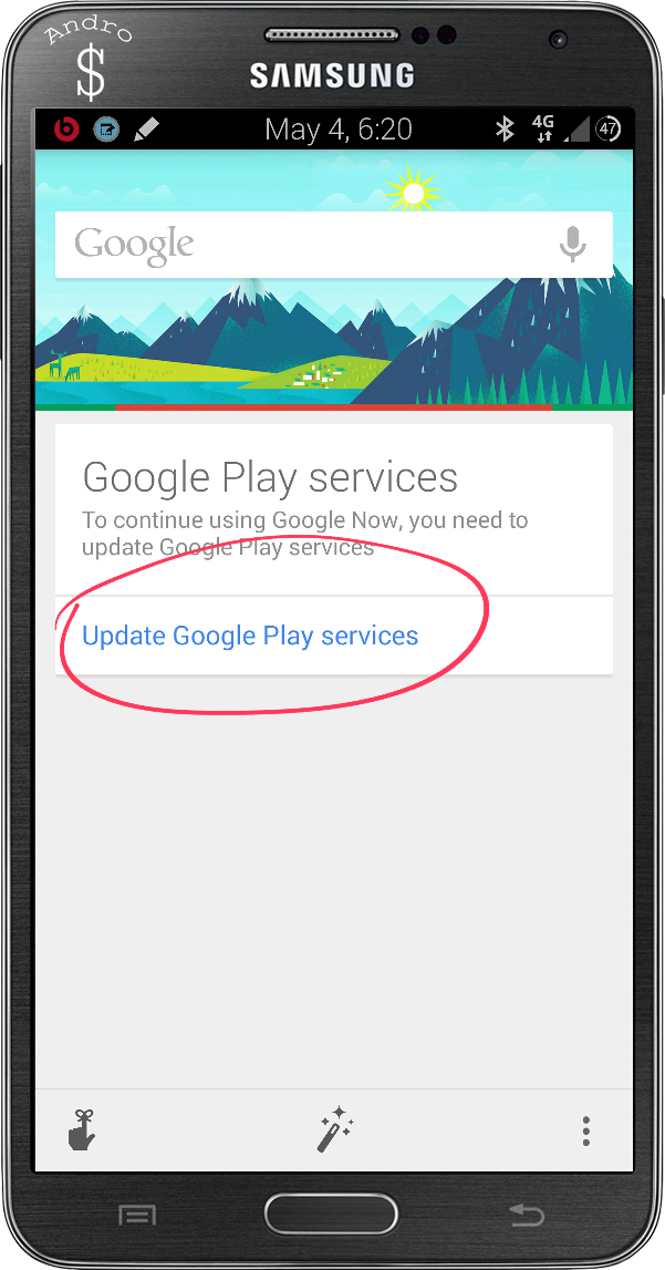EnableGoogleNow www.androdollar 25 - HOW TO : Fix and Enable Google Now Cards even if it's not available in your Location (Working on Any Android device running Android 4.4.4 Kitkat or Below)