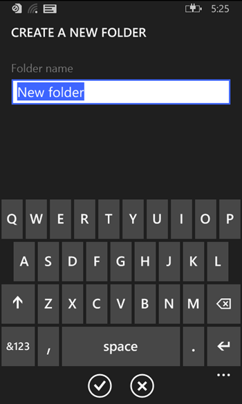 nRuOFXp - Screenshots of the Official Windows Phone File Manager emerge