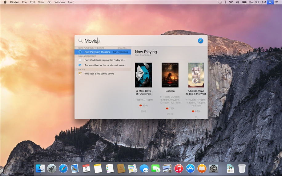 OSX Yosemite AndroDollar 4 - Apple launches OS X Yosemite with a Major UI redesign and a Bevy of Features