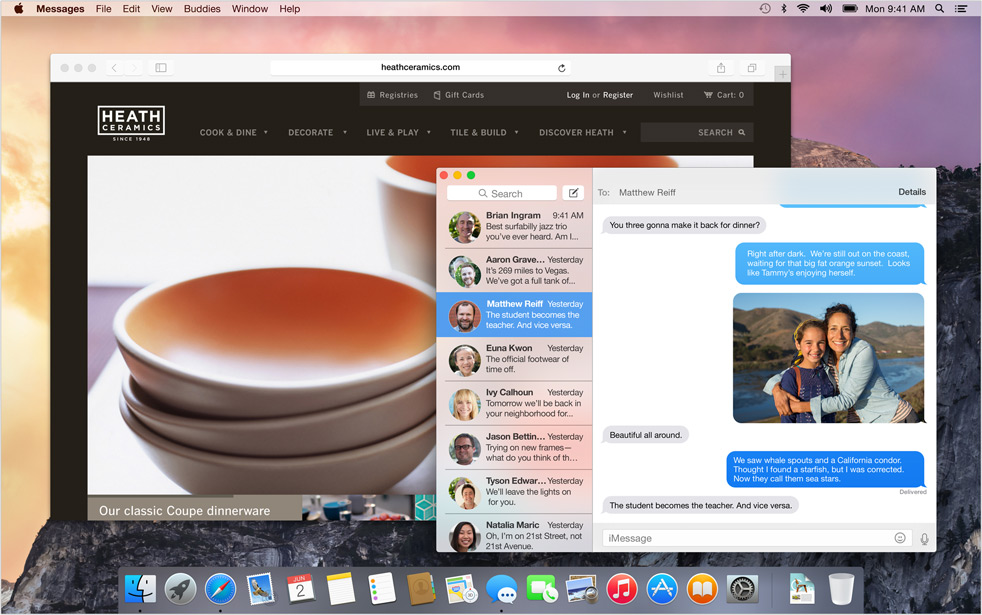 OSX Yosemite AndroDollar 6 - Apple launches OS X Yosemite with a Major UI redesign and a Bevy of Features