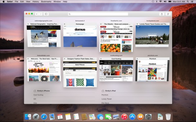 OSX Yosemite AndroDollar 8 - Apple launches OS X Yosemite with a Major UI redesign and a Bevy of Features