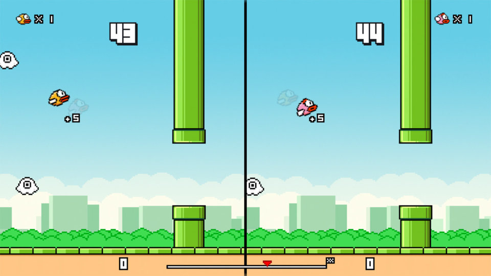flappy birds family.0.0 cinema 960.0 - Flappy Bird is Back with Multiplayer Mode