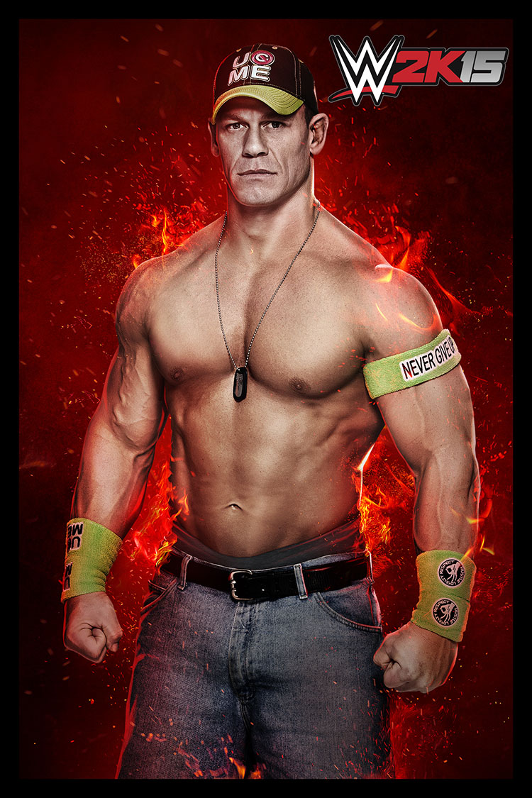 john cena wwe 2k15 - CM Punk to be featured in WWE 2K15's New Showcase Game Mode