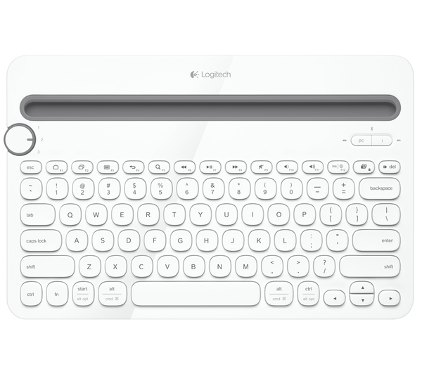 LogitechK480Keyboard AndroDollar 4 - Logitech unveils the K480; A Keyboard that can connect to 3 Devices Simultaniously