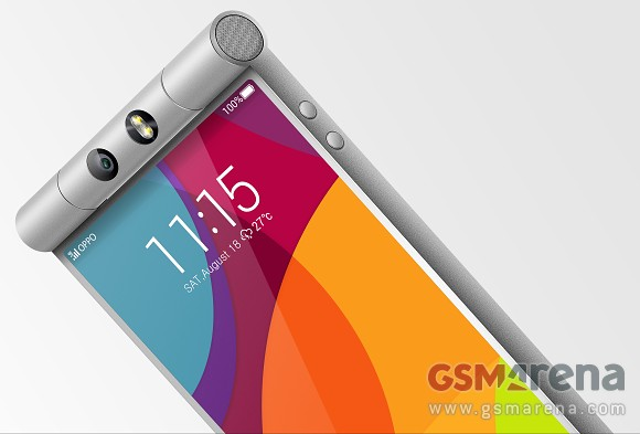 OppoN3 AndroDollar 1 - LEAKED : Oppo N3 Press Renders reveals a Beautiful Device with a Rotating Camera