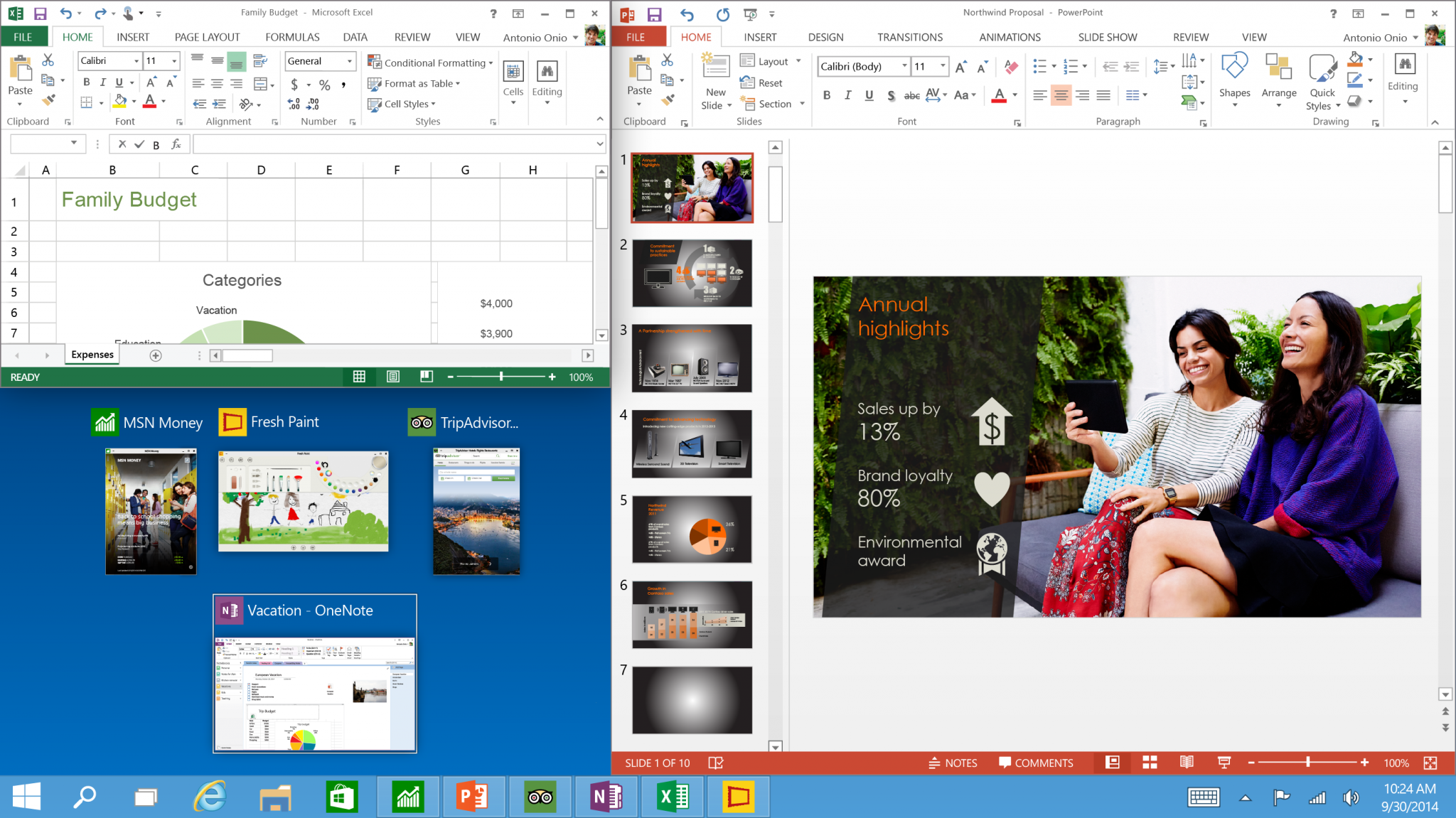 Tech Preview Three program snap and suggestions - Microsoft Unveils Windows 10 with Major Improvements [Download Link Here]