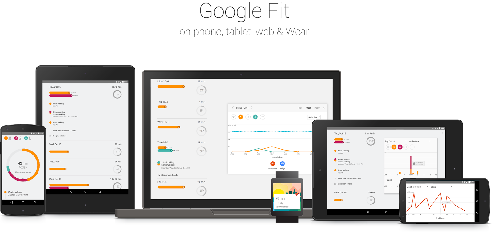 fit hero 1 - Google releases the Google Fit app to the Play Store [Download APK here]