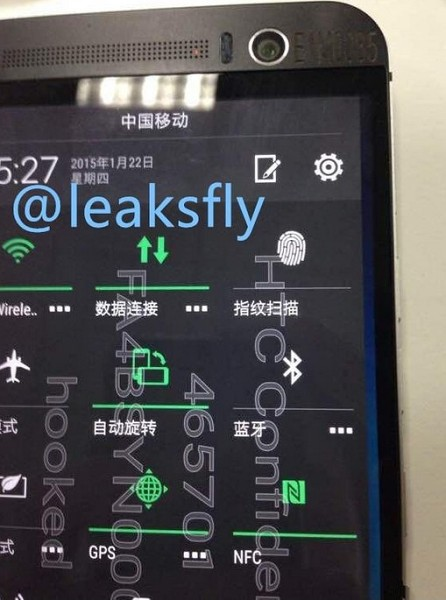 HTC One M9 Plus Andro Dollar 3 - Leaked Images reveal the HTC One M9 Plus along with Specifications