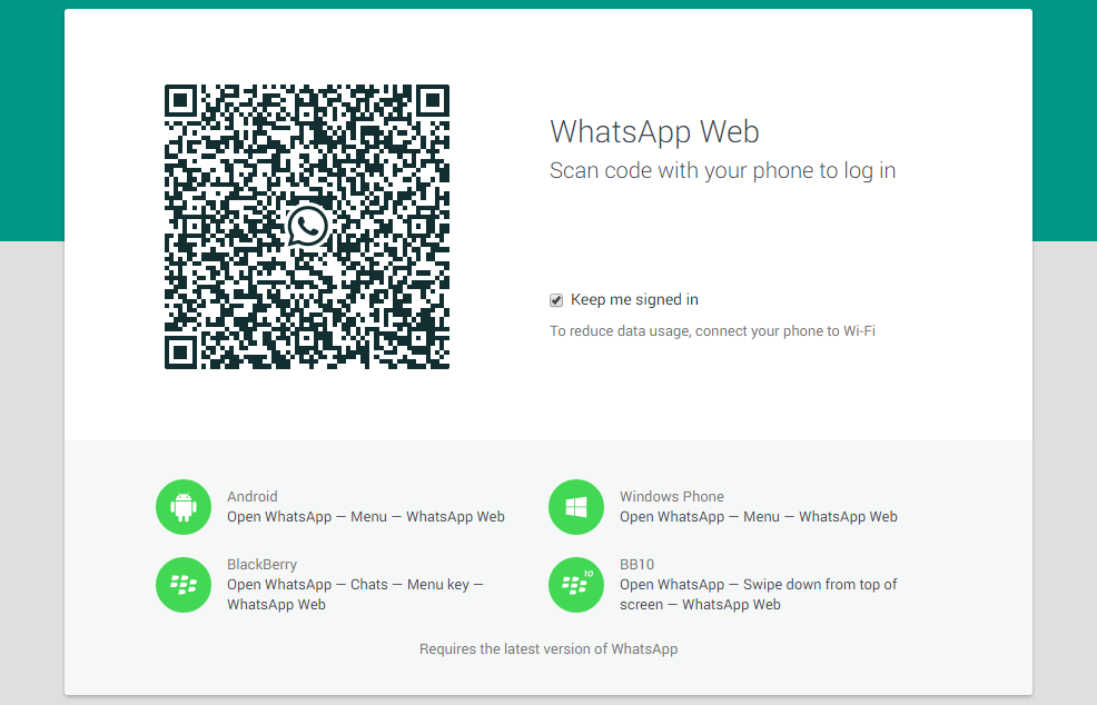 Whatsapp for Web Andro Dollar - Whatsapp Unveails a Web Client; Users can now Chat Directly by using the PC