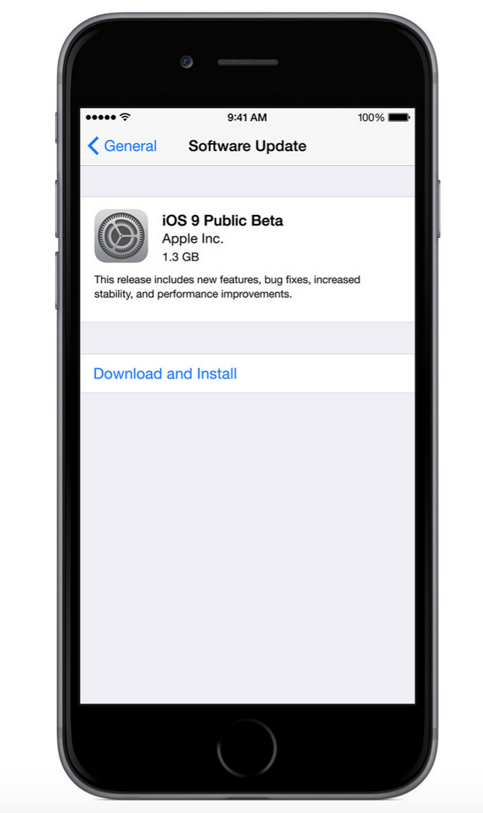 Screen Shot 2015 07 10 at 10.37.16 PM - HOW TO : Install iOS 9 Public Beta