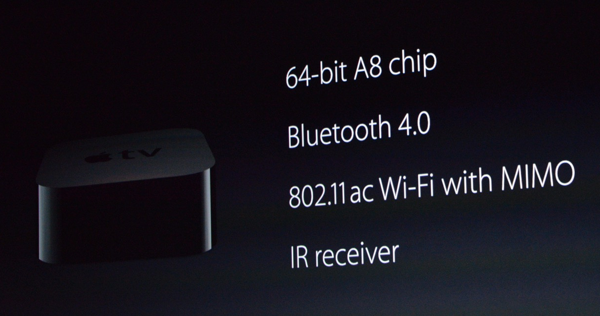 Screen Shot 2015 09 09 at 11.53.04 PM - Apple unveils the all new Apple TV with a Bluetooth remote with touch and Siri