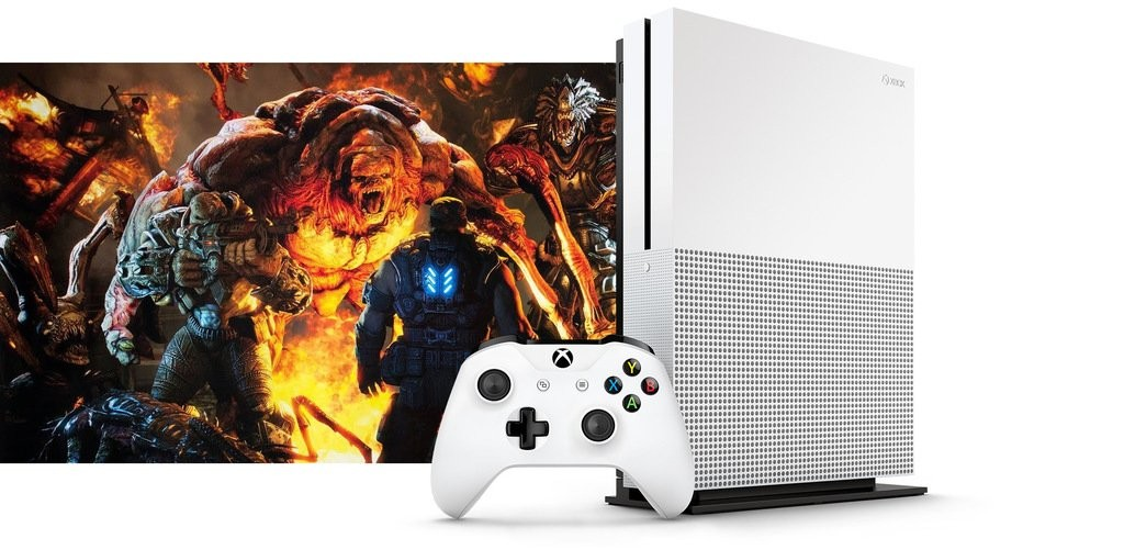 Xbox One Slim Leak 2 - Microsoft unveils a slimmer verison of the Xbox One called the Xbox One S