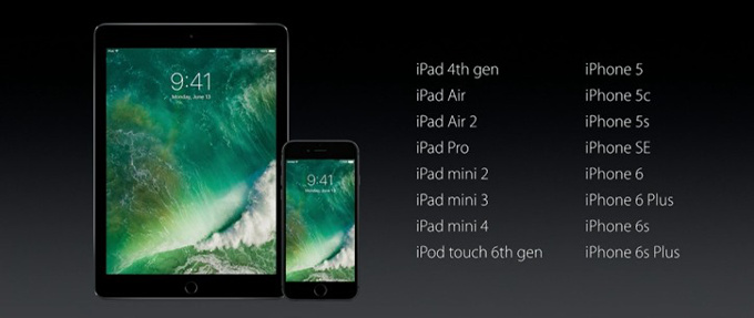 ios 10 compatible devices h1 - Apple unveils iOS 10 at WWDC 2016 with great focus on 3D touch