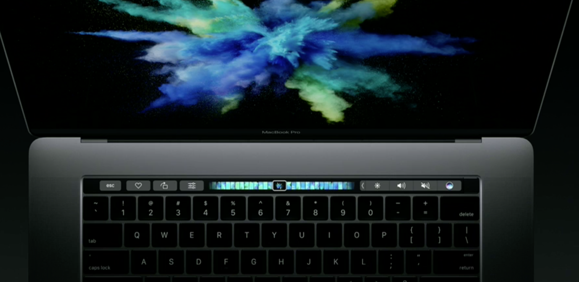 MacbookPro2016 1 - Apple announces a redesigned MacBook Pro with an all new Touch Bar