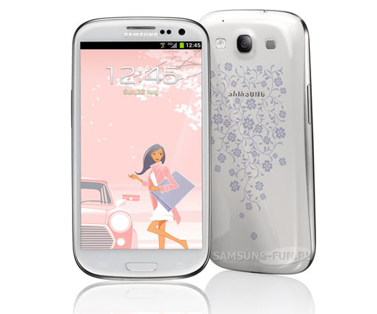 127309 s4mini laflur - Galaxy S4 mini La Fleur edition