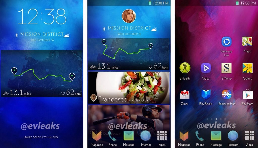 Leaked Samsung S New Touchwiz Ui Andro Dollar