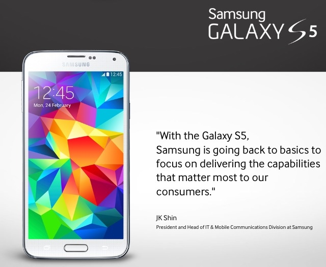 20140225 015653 - BREAKING NEWS : Samsung Announces the Galaxy S5
