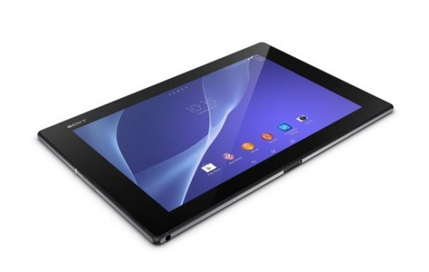 Xperia Z2 Tablet Black1 610x387 - Sony announces the Xperia Tablet Z2