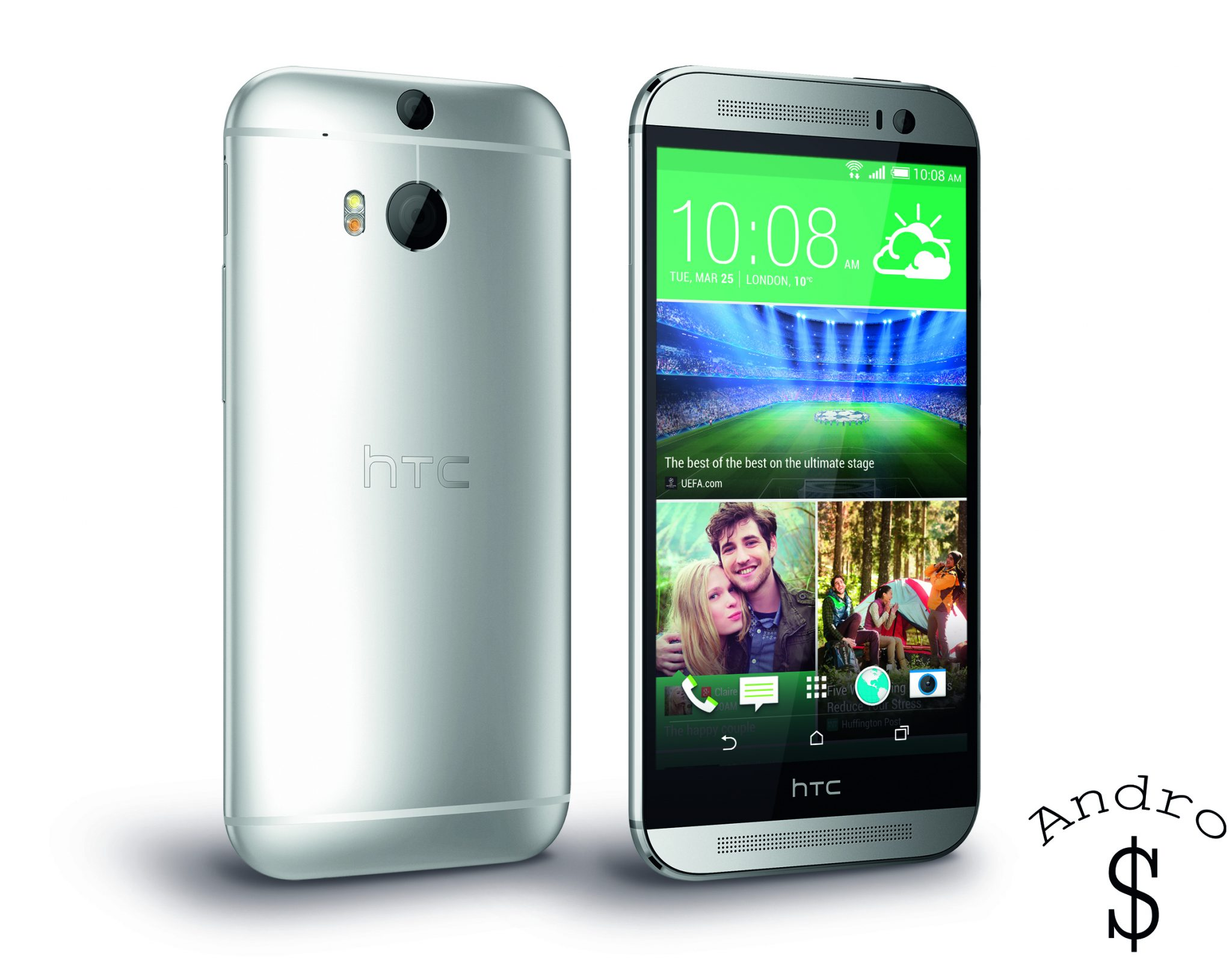 HTC One M8 PerRight Silver - BREAKING NEWS : HTC releases the HTC One 2014 (M8)