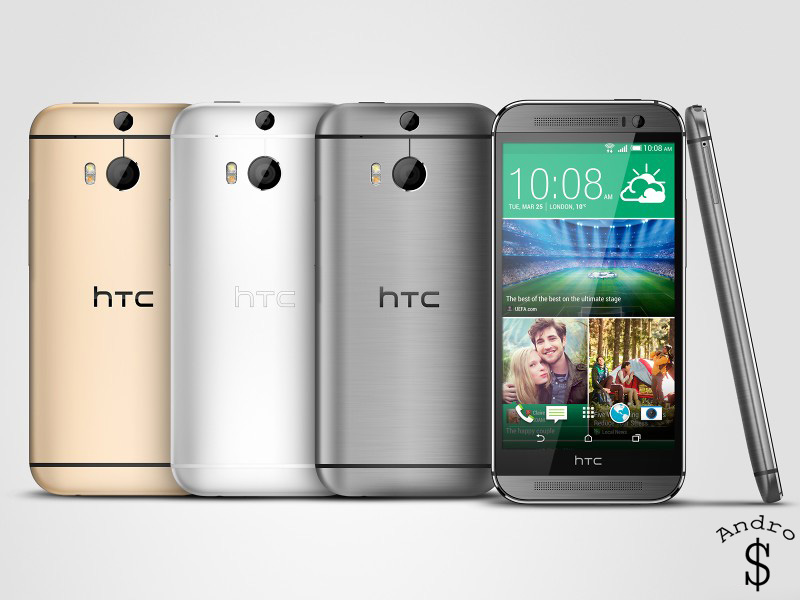 HTCOne M8 www.androdollar 2 - BREAKING NEWS : HTC releases the HTC One 2014 (M8)