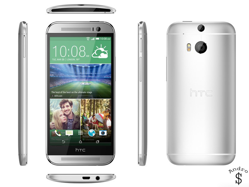 HTCOne M8 www.androdollar 3 - BREAKING NEWS : HTC releases the HTC One 2014 (M8)