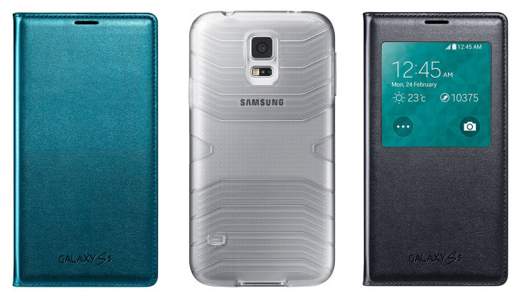 gs5 cases 2 - Official Samsung Galaxy S5 Cases revealed