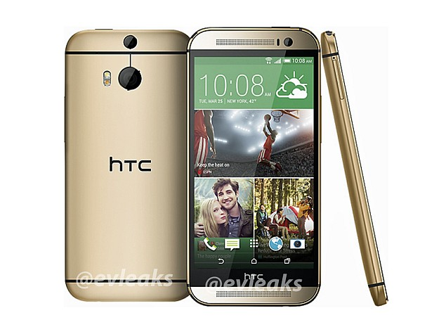htc one 2014 new image leaked evleaks - LEAKED : HTC One 2014 (M8) Full Specifications