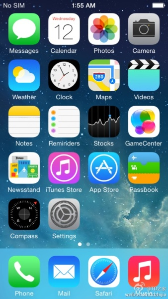 iOS8 www.androdollar 2 - LEAKED : Alleged iOS 8 screenshots reveal New Apps