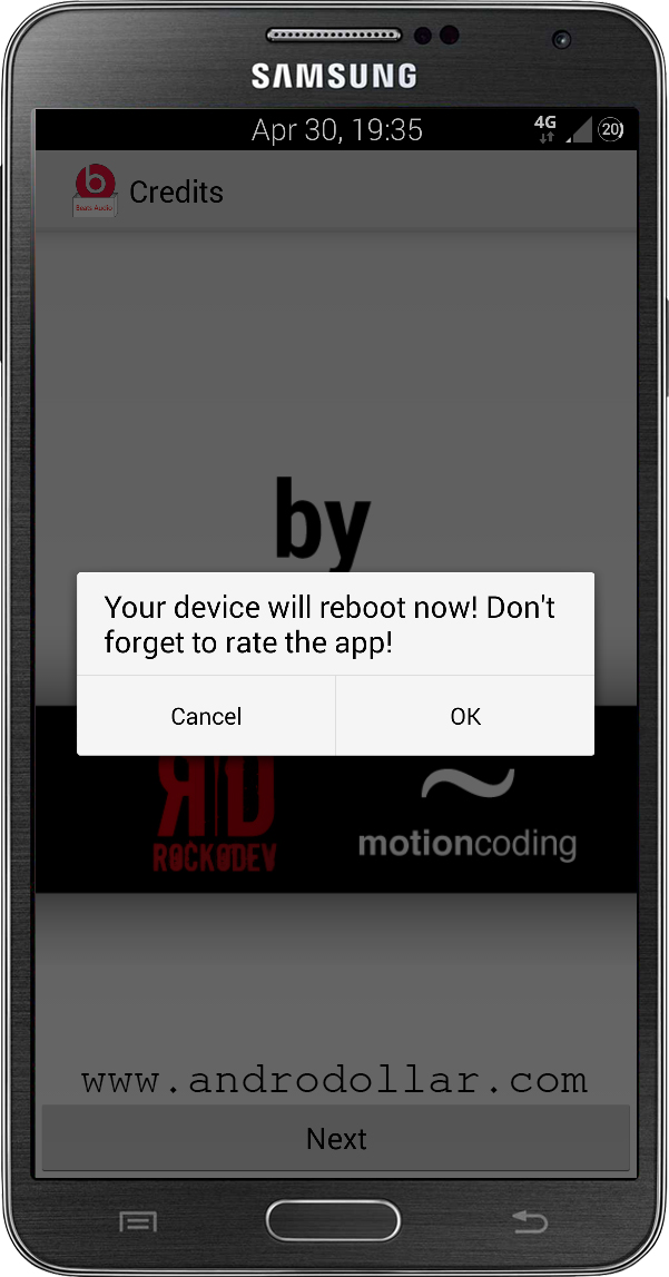 BeatsAudioInstaller www.androdollar 13 - HOW TO : Install Beats Audio on Any Android Device