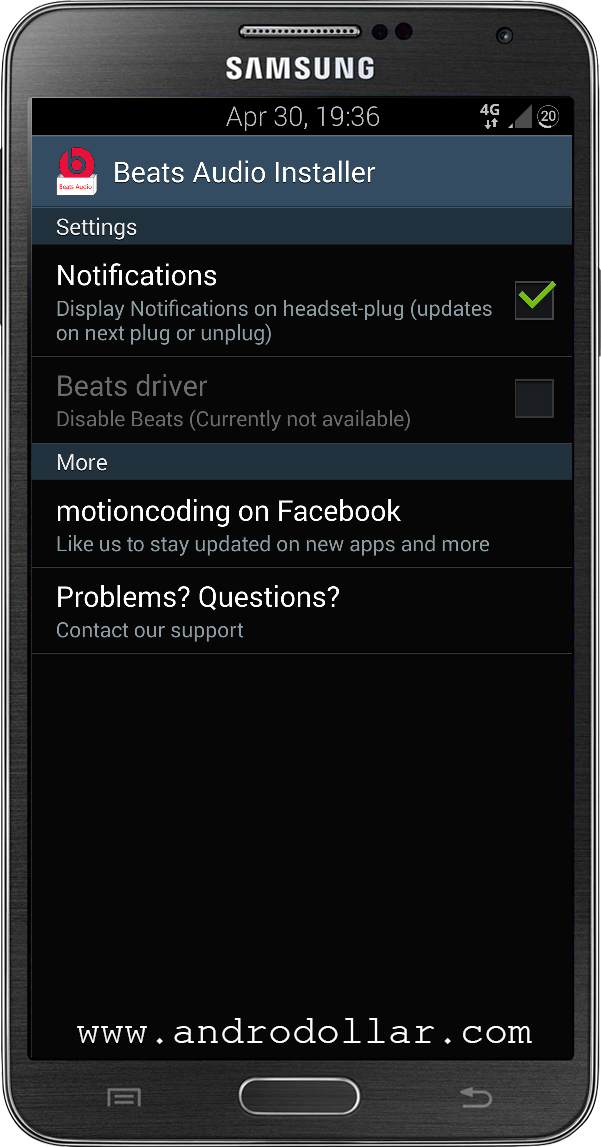 BeatsAudioInstaller www.androdollar 2 - HOW TO : Install Beats Audio on Any Android Device