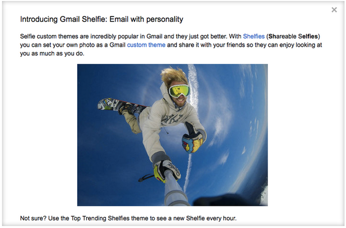 Gmail Shelfie www.androdollar.com  - Round-up of April Fool's day pranks by Tech Giants (2014)
