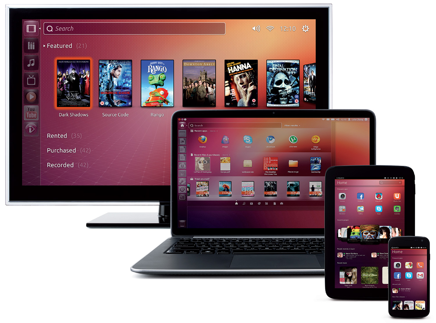 ubuntu tv pc smartphone tablet - Canonical releases Ubuntu 14.04