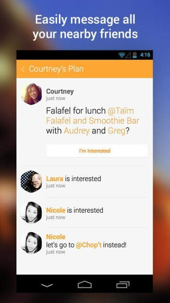 SWARM ANDROID ANDRODOLLAR 2 - Foursquare's All New Check-in App, SWARM is now available to download; Get the APK here