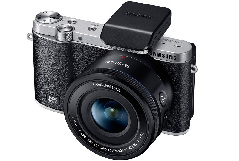 SamsungNX3000 www.androdollar 14 - Samsung NX3000 Smart Camera Launched with Selfies in Mind