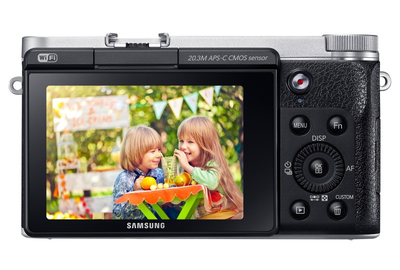 SamsungNX3000 www.androdollar 15 - Samsung NX3000 Smart Camera Launched with Selfies in Mind