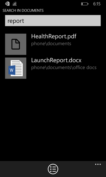 XN2m4hN - Screenshots of the Official Windows Phone File Manager emerge