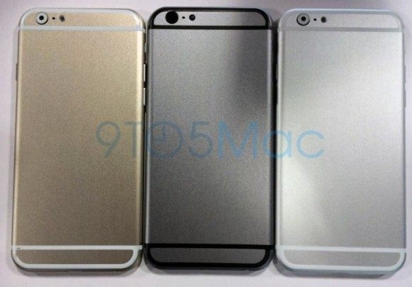 iPhone6 Gold www.androdollar.com 2 - LEAKED : Apple iPhone 6 in Gold and Compared to the iPod 5