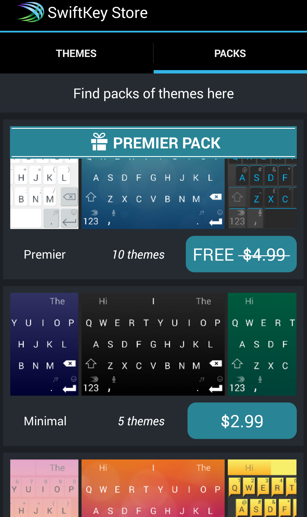 Swiftkey Android AndroDollar 1 - Swiftkey for Android goes Free with Premium Themes, Emoji and a lot more; iOS 8 version Coming Soon